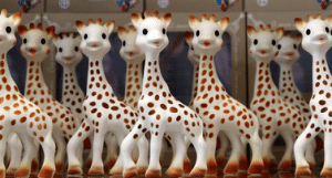 Avantages sophie la girafe
