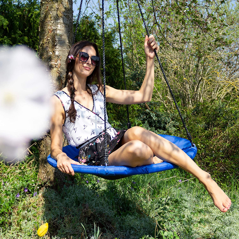 Balançoire nid d'oiseau Relaxdays 10020820