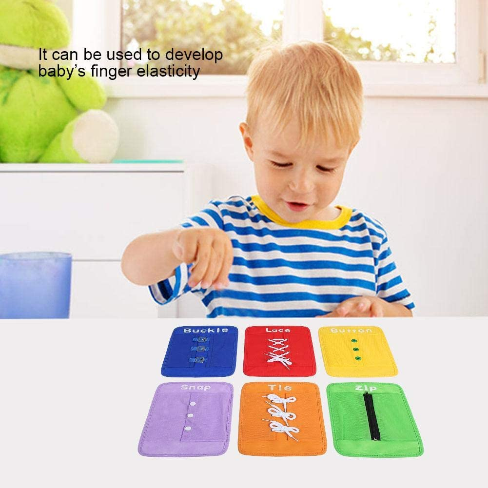 Set Planche D'activités Préscolaires pour L'acquisition D'aptitudes Montessori bébé Planches D'apprentissage